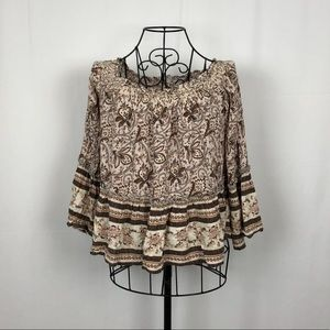 American Eagle Outfitters cotton boho top S